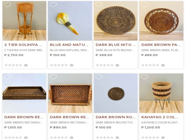 Pililokal Merchants that Carry Interesting Filipino Products in its Artisan Marketplace