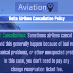 Delta Airlines Cancellation